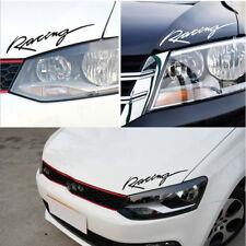 1PC Reflective Racing Motorcycle Auto Eyebrow Headlight Car Sticker Vinyl Decal