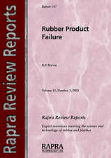 NEW Rubber Product Failure (Rapra Review Reports) by R.P. Brown