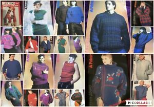 Patons Adult  Knitting Patterns Multi List