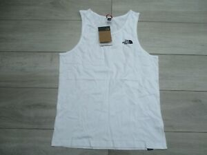 The North Face Men's Vest Top Tank White M Perfect for Summer BNWT Brand New