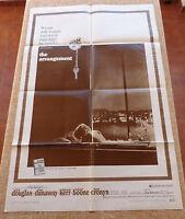 The Arrangement Movie Poster, Original, Folded, One Sheet, year 1969, U.S.A.