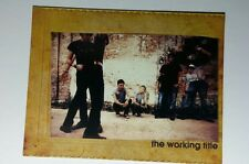 THE WORKING TITLE B&W POST CARD PHOTO MUSIC FLYER 4.25X5.5 POSTCARD SM POSTER