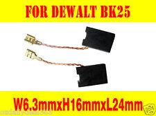 Carbon Brushes For Dewalt BK25,DW491K,DW846,DW843,DW850,DW950 Concrete Cutter OZ