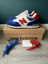 New Balance 576 USA (blue/white/red) Made In UK -  EU43 / UK9 / US9.5 - Neuf