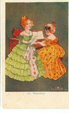 TWELVETREES WEDNESDAY #115 WOMAN SINGING/PIANO PM 1906 (TT106)