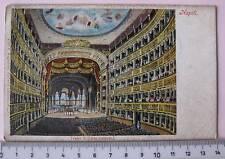 cartolina Campania - Napoli S. Carlo - Napoli 6563