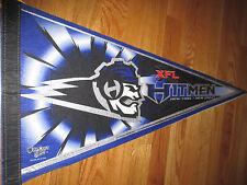 "2000 XFL Football NEW YORK NEW JERSEY HITMEN 30"" Pennant"