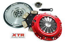 XTR 6-PUCK CLUTCH KIT+HD FLYWHEEL for ACURA CL ACCORD PRELUDE F22 F23 H22 H23