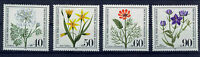 ALEMANIA BERLIN GERMANY 1980 MNH SC.9NB171/74 Wildflowers
