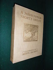 A MIDSUMMER-NIGHT' ILLUSTRATED BY ARTHUR RACKHAM  - Heinemann London 1911