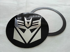 Tax Disc Holder Magnetic Transformers Decepticons chrome log fit peugeot vw ford