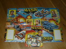 MASK Comic - No 15 - Date 09/05/1987 - UK Paper Comic - Inc FREE GIANT Poster