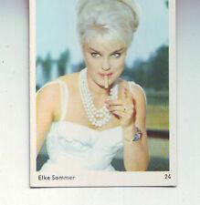 carte gum card Elke Sommer - numero 24 de la serie