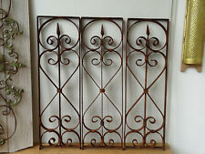 U4122 ~ 3 Window Bars ~ Balkongitter~Trellis~Art Nouveau~Wrought Iron
