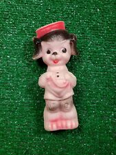 Vintage Sun Rubber Co Ruth E. Newton Ny Squeak Toy Dog in Sailor Suit 50s doll