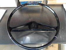 59 60 Chevy Impala Belair Biscayne Steering Wheel Repop Black Hot Rod New Black