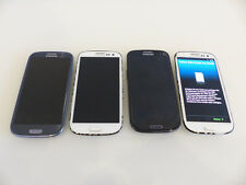 4x Samsung Galaxy S III s3 gt-i9300 i9305 i9301i 16gb smartphone, defectuoso