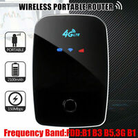 Portable 4G Router LTE Wireless Mobile Wifi Hotspot Broadband SIM Card 150Mbps C