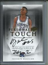 Anfernee Hardaway 11/12 Exquisite Collection Autograph #15/30