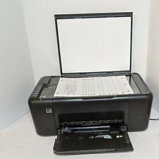 HP DESKJET F4480 All-in-one Scanner Color Inkjet Printer Copier Used Tested.