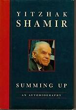 Summing Up by Shamir, Yitzhak-ExLibrary