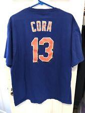 Alex Cora New York Mets Majestic Shirt Size XL