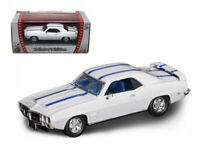 1969 PONTIAC FIREBIRD TRANS AM WHITE 1/43 DIECAST MODEL BY ROAD SIGNATURE 94238w