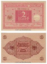 Germany 2 Mark 1920  P-59 Banknotes UNC
