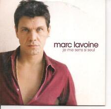 CD SINGLE 2 TITRES--MARC LAVOINE--JE ME SENS SI SEUL--2006