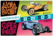 Lindberg Customizable Street Rod 2-Pack 1/32 model car kit new 136