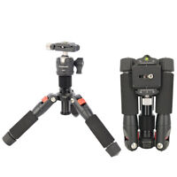 Koolehaoda Mini Tripod Compact Desktop Macro Mini Tripod with Ball Head