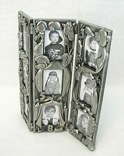 Royal Limited Silver Ages Frame, New! Holds 9 2x3 Photos