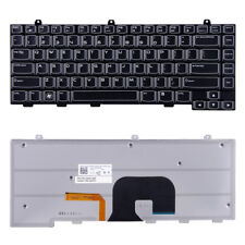 100% NEW KEYBOARD FOR Dell Alienware M14X R1 R2 PK130ML1B14 02M4NW W/ Backlight