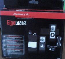 Gigaware Accessory Kit - Black - For iPod nano 4th Generation - Brand New In Box