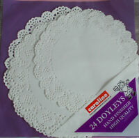 Paper Doilies Pack of 24 Assorted Doyleys Lace Style Doiley new