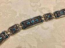 Brighton Turquoise Bracelet silver plated beautiful fashion new