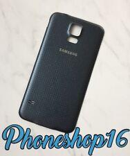 Original Samsung Galaxy S5 G900F Akkudeckel Deckel Cover Charcoal Black Schwarz