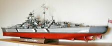 Battleship Bismarck  1:200 scale model kit (with lasercut frame set)  2100 parts