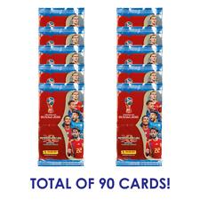 Copa del Mundo FIFA 2018 PANINI ADRENALYN 10 paquetes (90 tarjetas) buscar Mbappe!