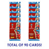 2018 PANINI ADRENALYN FIFA WORLD CUP 10 PACKS (90 CARDS)