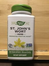 St. John's Wort Value Size 180 Caps  by Nature's Way Exp 10/22