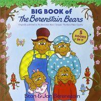 BERENSTAIN BEARS BIG BOOK 5 in 1 (hc) New Baby,Sitterr,Messy Room,Dark,Doctor