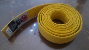 Daedo , Gürtel Von Karate Unisex Erwachsene, Gelb, 260 CM Sport