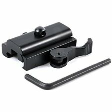 Quick Detach Cam Lock Bipod Sling Adapter Mount Picatinny Weaver Rail 20mm Optic