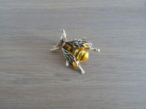 Bumble Bee Brooch 1 of 2 - enamelled