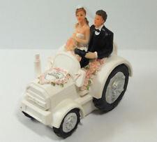 Brautpaar Traktor In Tortenfiguren Fur Hochzeiten Gunstig Kaufen Ebay