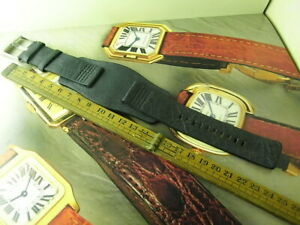 FREE SHIPPING!GENUINE NOS FOSSIL LL 1037 24MM MILITARY  MENS LEATHER WATCH STRAP