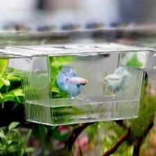 Aquarium Fry Baby Fish Tank Breeding Breeder Trap Box Nursery Hatchery Net B1
