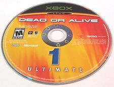 Dead or Alive Ultimate (Microsoft Xbox, 2004)(DISC ONLY) #5182