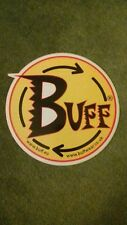 COLLECTABLE RARE LARGE BUFF STICKER